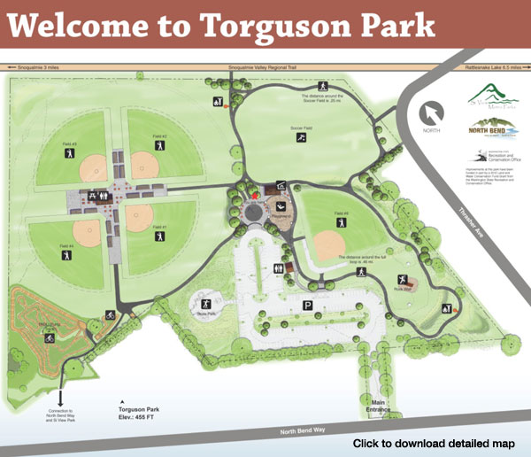 Torguson Park Map