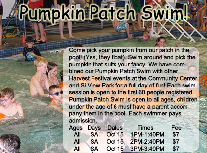 Pumpkin Patch Swim 2016