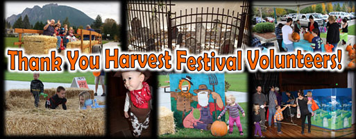 Thank You to the Harvest Carnival Volunteers